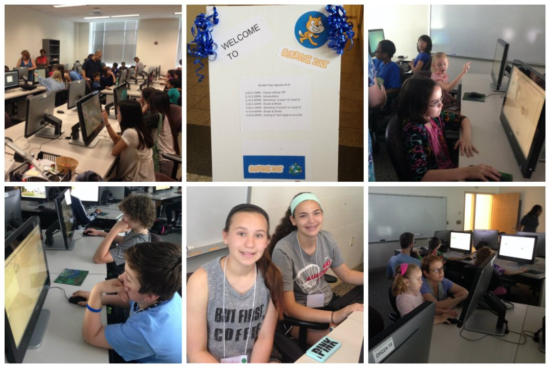 Scratch Day Collage