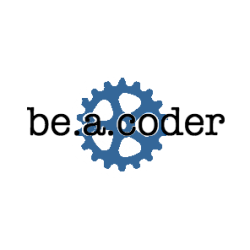 beacoder blue logo